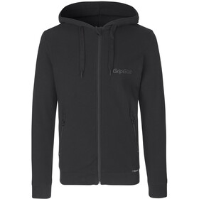 GripGrab Icon LS Organic Cotton Zipper Hoodie black